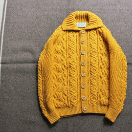 INDIGO FISHERMAN KNIT
