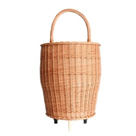 The Tastemakers & Co. - Market Wicker Cart