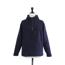 YAECA - FLEECE JACKET/NAVY