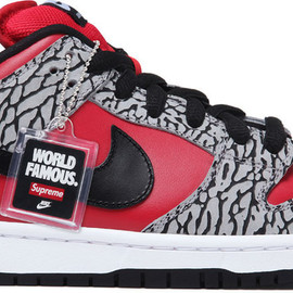 NIKE SB DUNK LOW PRO BRICKHOUSE/TURBO GREEN-TEAM RED