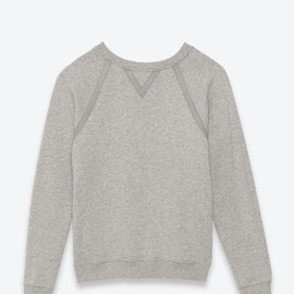 SAINT LAURENT PARIS - Classic Crewneck Sweatshirt