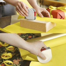 quirky - Gifteze - tape/ribbon cutter and tape dispenser for giftwrapping