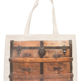 Thursday Friday - Vintage Trunks Together Bag, Wood
