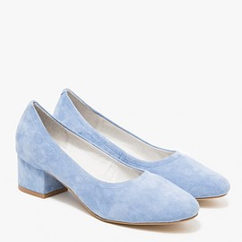 Jeffrey Campbell - Bitsie in Pale Blue Suede