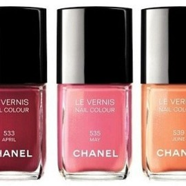 CHANEL - Les Vernis #533 APRIL,#535 MAY,#539 JUNE