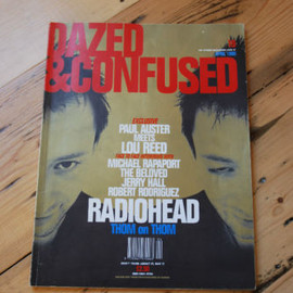 Dazed & Confused - 1996  RADIOHEAD Paul Auster VG condition RANKIN