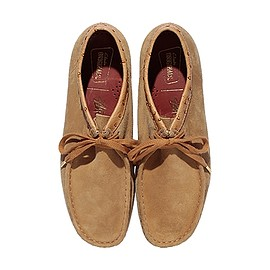 Stussy, Clarks Origrnals - WALLABEE LOW