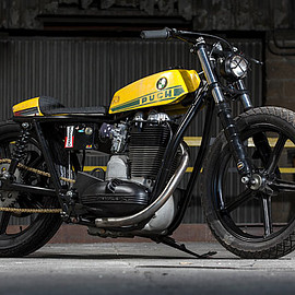 Russell Motorcycles - Sanglas 500 S2 Junior Flat Tracker