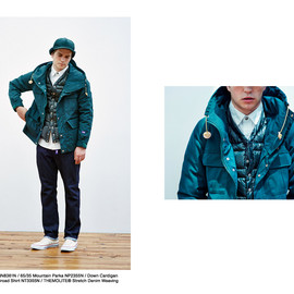 THE NORTH FACE PURPLE LABEL - Mountain Parka & Down Cardigan