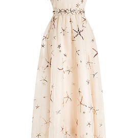 VALENTINO - SS2015 EMBELLISHED SILK ORGANZA DRESS