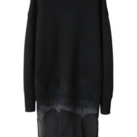 ALEXANDER WANG - Needle Punch Chiffon Dress