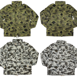 A BATHING APE - ABATHINGAPE(エイプ)1STCAMOGRADATIONFIELDJACKET[ジャケット]【新品】230-000555-069[1910-141-009]-【smtb-TD】【yokohama】
