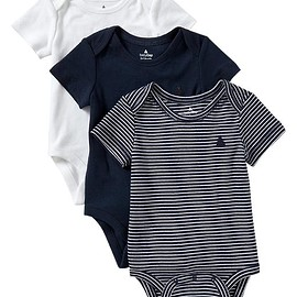 GAP - Favorite stripe bodysuit (3-pack)