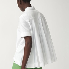 COS - BACK-PLEATED SHIRT