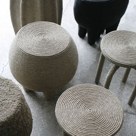 Christian Astuguevieille - Natural Hemp Rope Stool