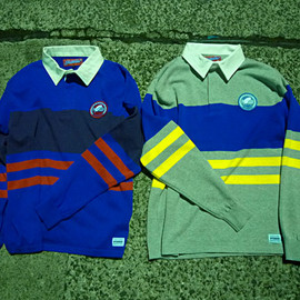 INTERBREED - Classic Lined Rugby Shirts