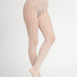 American Apparel - Crescent Pattern Fishnet