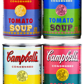 Andy Warhol - Campbell's Soup Limited Edition Andy Warhol Cans
