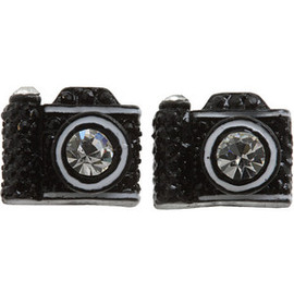 BETSEY JOHNSON - Camera Earring
