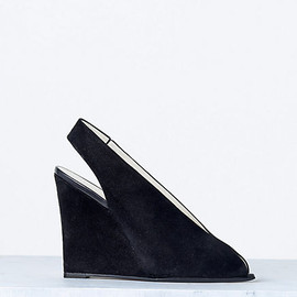 CELINE - OPEN TOE WEDGE