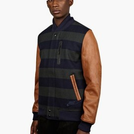 Nike - X Fox Brothers Men's Navy Tan Destroyer Jacket