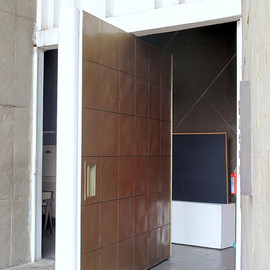 Le Corbusier - Door, Chandigharh, India