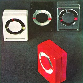Richard Sapper - Sandwich clock, Ritz Italora 1971