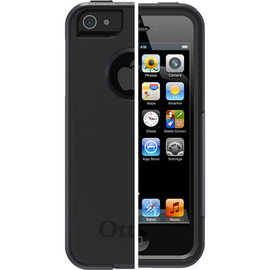 otter box - IPHONE 5 COMMUTER SERIES BLACK