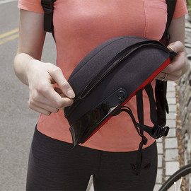 quirky - ZipShell - the space saving helmet