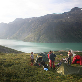 Wild camping in jotunheimen, norway - Wild camping in jotunheimen, norway