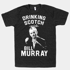 HUMAN - Drinking Scotch With Bill Murray (Athletic Black Shirt)