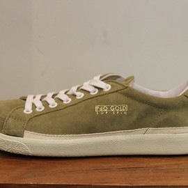 Pantofola d'Oro - suede leather