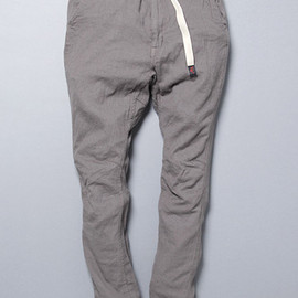 CLIMBER EASY PANTS OVERDYED C/P TWILL STRETCH BY GRAMICCI