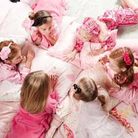 Girls slumber party
