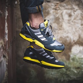 adidas originals - ZX 800 - Grey/Yellow