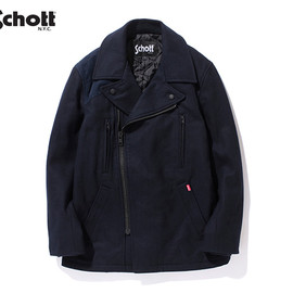 Schott for Stussy - Military Pea Coat
