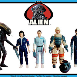 SUPER7 - ReAction: Alien Figure Series 1 (Set of 5 Units with Bonus Early Bird Package)