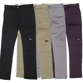 DICKIES - DICKIES 811 DOUBLE KNEE WORK PANTS SKINNY STRAIGHT