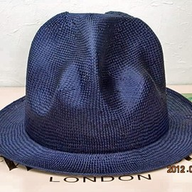 World's End - Straw Mountain hat navy