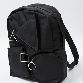 IKUMI - ○△□ BACK PACK