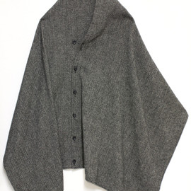 SHAWL COLLAR KNIT JACKET