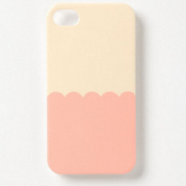 Anthropologie - Scalloped iPhone 4 & 4S Case