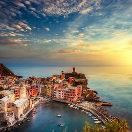 Ligurian Sunset