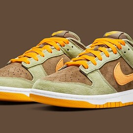 NIKE - Dunk Low - Dusty Olive/Pro Gold