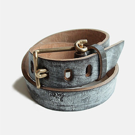 TENDER - WIRE BUCKLE POLISHED BELT