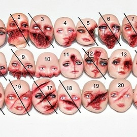 ◕‿ ◕ Deformed Dollface Rings ◕‿ ◕
