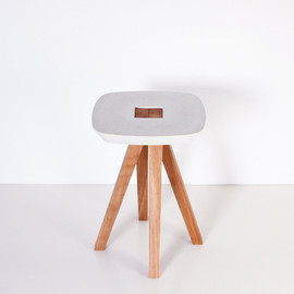 inoowdesign - Ydin - stool, side table, pedestal table