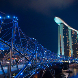 Singapore - Helix Bridge