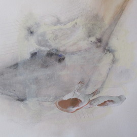 Isabel Carrio - Acercamiento, 2011, mixed media on paper