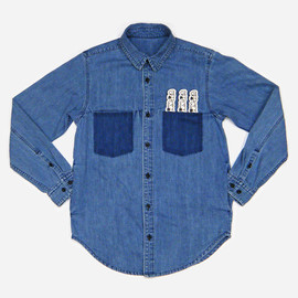 SUNSEA - Denim shirt